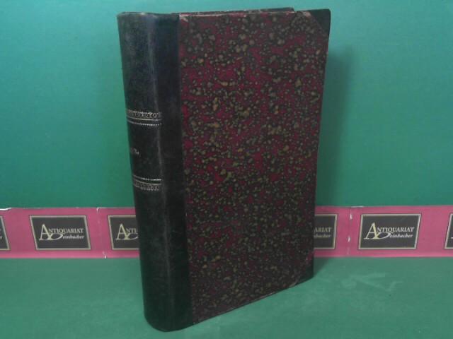 Physik in Beziehung zur Theodicee. (= Das Buch der Natur - Entwurf einer kosmologischen Theodicee, Band 7). 1.Auflage,