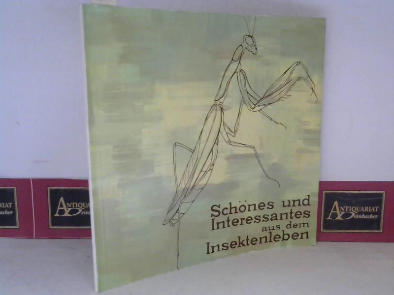 Amt d.NÖ Landesregierung (Hrsg.)Harald Schweiger und Johannes Grundler: Schönes und Interessantes aus dem Insektenleben. (= Katalog zur Sonderausstellung des NÖ Landesmuseum, Neue Folde Nr.56). 1. Aufl.