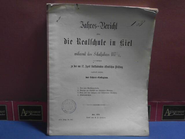 Meissel: Beiträge zur Ballistik des Infantrie-Gewehrs. (= Beilage zum Jahresbericht der Realschule in Kiel). 1. Aufl.