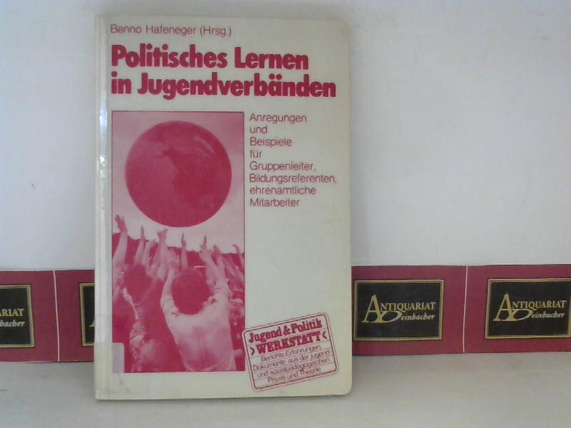 Politisches Lernen in Jugendverbänden - Anregungen und Beispiele für Gruppenleiter, Bildungsreferenten, ehrenamtliche Mitarbeiter. 1. Aufl.