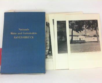 Nationale Mahn- und Gedenkstätte Ravensbrück. - Flügelmappe mit 12 montierten Photografien. 1.Auflage,