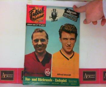 Deutsche Fußball-Meisterschaft 1961 - Sport-Jahres-Meister Nr. 1 - 13.Jahrgang 1. Aufl.