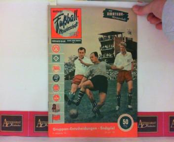 Deutsche Fußball-Meisterschaft 1957 - Jahres-Sport-Meister Nr. 1 - 9.Jahrgang. 1. Aufl.