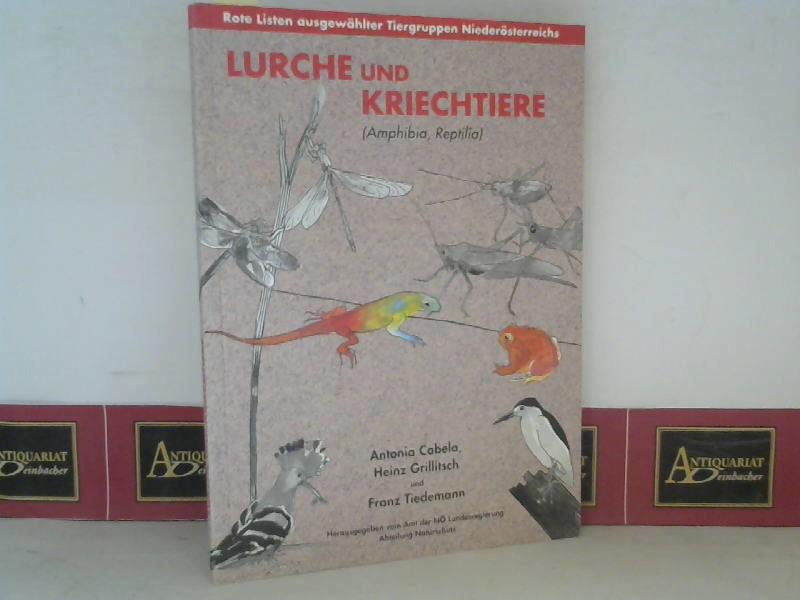 Lurche und Kriechtiere (Amphibia, Reptilia) - Eine Rote Liste der in Niederösterreich gefährdeten Arten 1. Aufl.