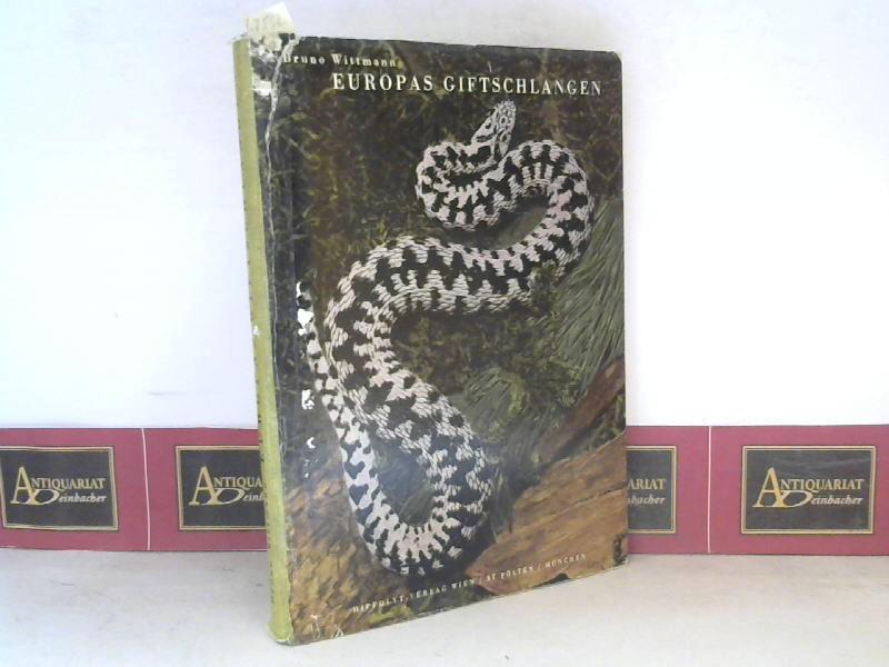 Wittmann, Bruno: Europas Giftschlangen. 1. Aufl.