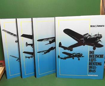 Die deutsche Luftrüstung 1933 - 1945 - in 4 Bänden (vollständig). 1. Aufl.