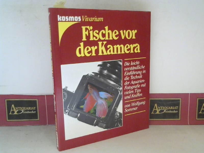 Sommer, Wolfgang: Fische vor der Kamera - Die leichtverständliche Einführung in die Technik der Aquarien-Fotografie mit vielen Tips und Kniffen. 1. Aufl.
