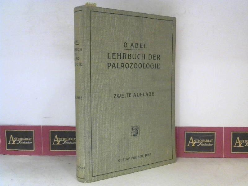Abel, O.: Lehrbuch der Paläozoologie. 2. Aufl.