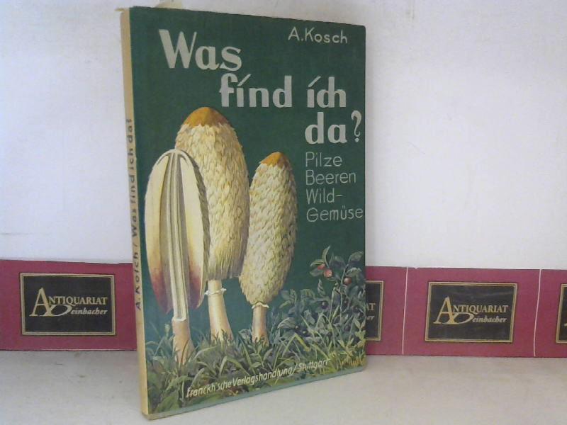 Was find ich da. - Tabelle zum Bestimmen von Pilzen, Beeren und Wildgemüse. 10. Aufl.