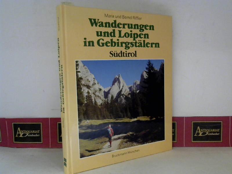 Wanderungen und Loipen in Gebirgstälern Südtirol - 46 Touren zwischen Vinschgau und Sextental. 1. Aufl.