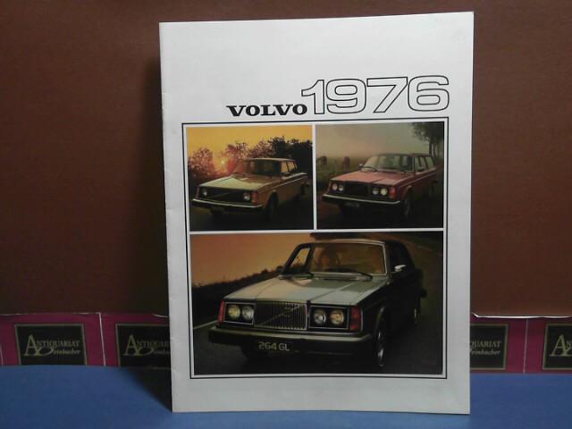 VOLVO 1976 (= Farbprospekt) 1. Aufl.