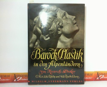 Barock-Plastik in den Alpenländer. 1. Aufl.