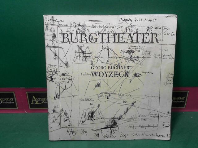 Woyzeck. (= Burgtheater 1989, Programmbuch, Nr. 45). 1. Aufl.