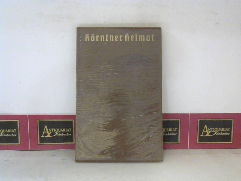Teuffenbach, Ingeborg: Kärntner Heimat - Gedichte. 1.Auflage