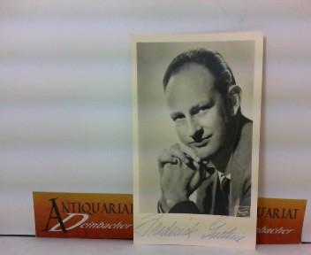 Photo Bild-Autogrammkarte von Frederick Guthrie - eigenh.signiert