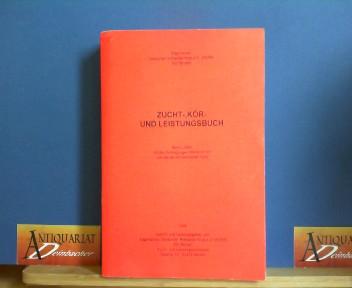 Zucht-, Kör- und Leistungsbuch - Band LXXIX mit den Eintragungen 88454-91707 von Januar bis Dezember 1995. 1.Auflage,