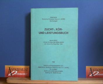 Zucht-, Kör- und Leistungsbuch - Band LXXVIII mit den Eintragungen 85644-88453 von Januar bis Dezember 1994. 1.Auflage,