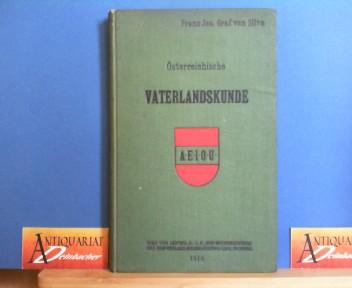 Österreichische Vaterlandskunde für die oberste Klasse der Mittelschule in Österreich. 1.Auflage,