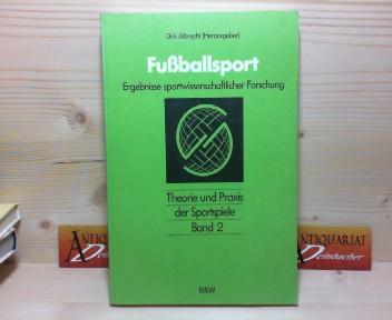 Fußballsport - Ergebnisse sportwissenschaftlicher Forschung. (= Theorie und Praxis der Sportspiele, Band 2). 1.Auflage,