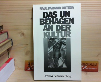 Das Unbehagen an der Kultur. (= U&S-Psychologie).  1.Auflage, - Paramo-Ortega, Raul und Brigitte Milkau-Kaufmann