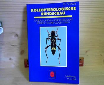 Jäch, Manfred A.: Koleopterologische Rundschau - Band 79 (2009). 1.Auflage,