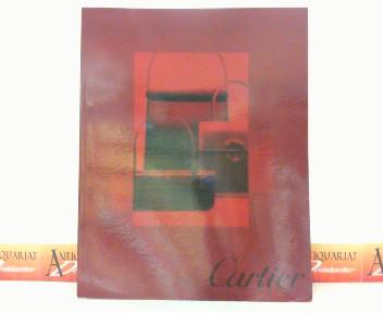 Katalog von Cartier über Taschen, Leder und Accessoires - Ausgabe 2001 (ED LE 2704) mit beiliegender Preisliste. 1.Auflage,