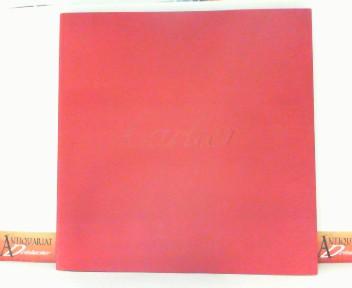 Katalog von Cartier über Schmuck und Uhren - Ausgabe 2002 (ED DI 2833). 1.Auflage,