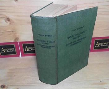 Slovensko-Nemski Slovar - Slowenisch-Deutsches Wörterbuch. 1.Auflage,