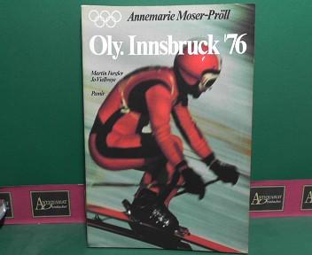 Oly. Innsbruck 76 (Olympische Winterspiele). 1.Auflage,