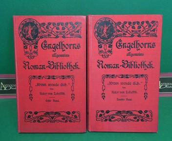 Kreuz wende dich. - Roman (in zwei Bänden). (= Engelhorns allgemeine Romanbibliothek, 21.Jg., Band 17-18). 1.Auflage,