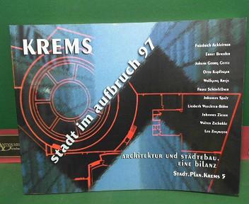 Krems - stadt im aufbruch 97. Architektur und Städtebau. Eine Bilanz. (= Stadt.Plan.Krems, 5). 1.Auflage,