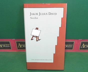 Novellen. (= Eine österreichische Bibliothek). 1.Auflage,