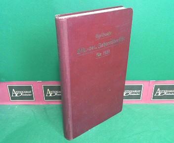 Haug, Hermann (Hg.): Egelhaafs historisch-politische Jahresübersicht für 1920. - 13.Jahrgang der politischen Jahresübersicht. 1.Auflage,