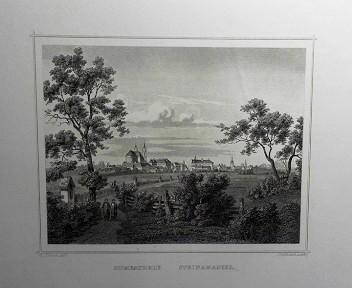 Szombathely, Steinamanger. (= aus: Das Kaiserthum Oesterreich - Ungarn nebst Siebenbürgen, Tyrol, Triest sowie  II.Abtheilung).