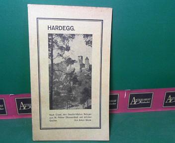 Hardegg - Nach Copal, den geschichtlichen Beilagen zum St.Pöltner Diözesanblatt und örtlichen Quellen. 1. Aufl.