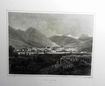 Brixen (Tyrol). (= aus: Das Kaiserthum Oesterreich - Ungarn nebst Siebenbürgen, Tyrol, Triest sowie  II.Abtheilung).