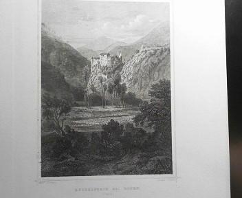 Rungelstein bei Bozen. (Tyrol). (= aus: Das Kaiserthum Oesterreich - Ungarn nebst Siebenbürgen, Tyrol, Triest sowie  II.Abtheilung).