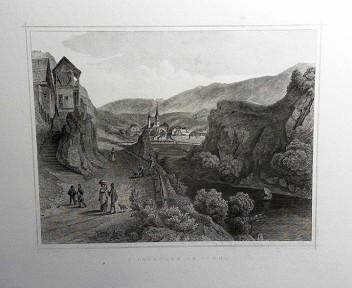 St. Lorenzen in Tyrol. (= aus: Das Kaiserthum Oesterreich - Ungarn nebst Siebenbürgen, Tyrol, Triest sowie  II.Abtheilung).