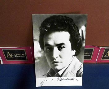 Photo Bild-Autogrammkarte von José Carreras - eigenh.signiert.