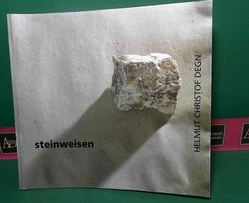Steinweisen - Helmut Christof Degn - Paris 1988. (= Katalog zur Ausstellung; Blau-Gelbe Galerie Niederösterreichisches Landesmuseum, Wien, 21. Dezember 1988 - 23. Jänner 1989, Galerie des Institut Français d