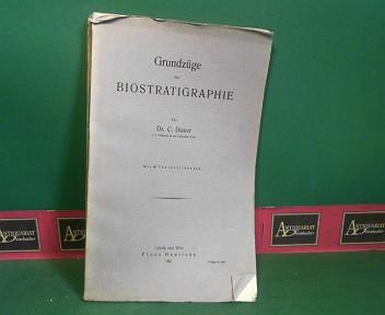 Grundzüge der Biostratigraphie. 1.Auflage,