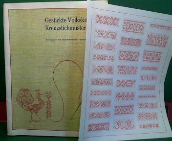 Gestickte Volkskunst - Kreuzstichmuster aus Oberösterreich. 8.Auflage,