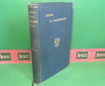 Wildermann, Max: Jahrbuch der Naturwissenschaften - 9.Jg.1893/1894. 1.Auflage,