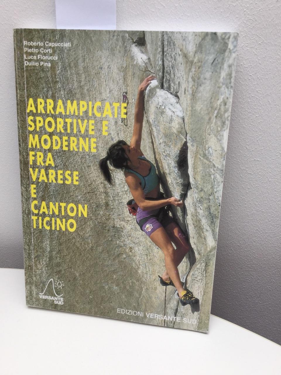 Arrampicate Sportive e Moderne fra Varese E Canton Ticino.