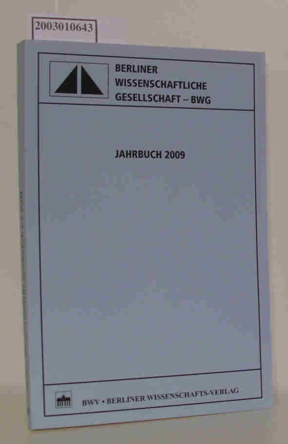 BWG Jahrbuch 2009