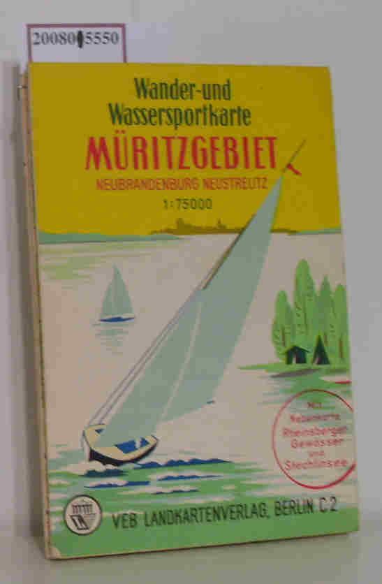 Wander-und Wassersportkarte Müritzgebiet Maßstab 1 : 75000