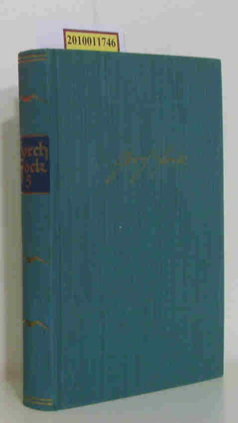 Gorch Fock. (5) Sämtliche Werke in fünf Bänden, hier Band 5