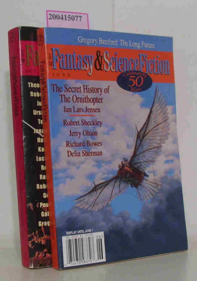 Fantasy & Science Fiction June, October/ November 1999