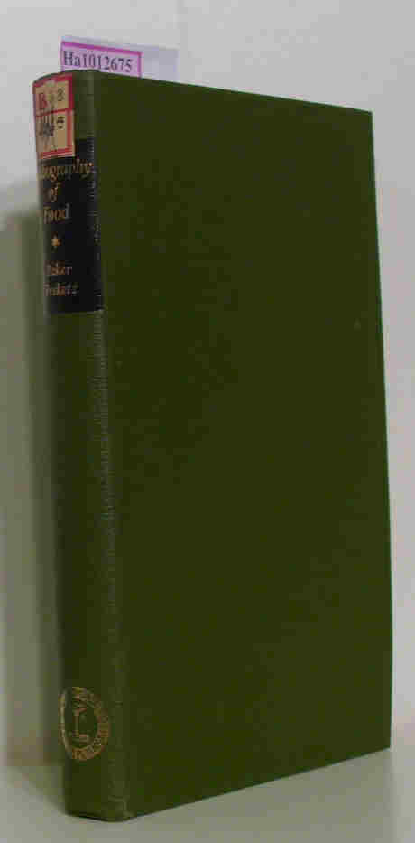 Bibliography of Food. A Select International Bibliography of Nutrition, Food and Beverage Technology and Distribution, 1936-56.