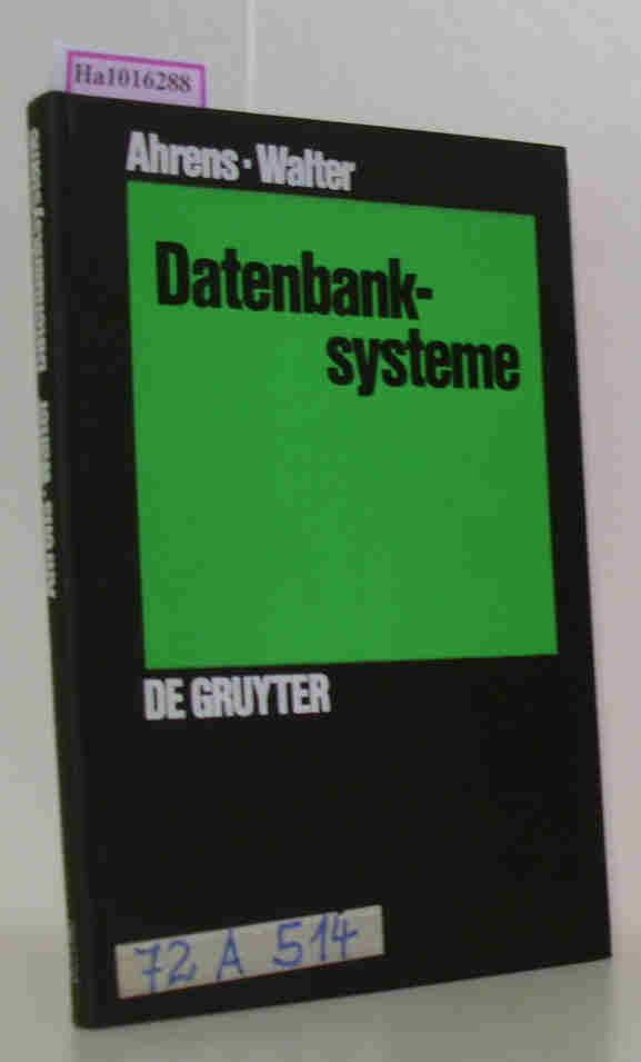 Datenbanksysteme.